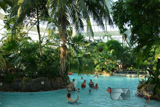 Aqua Mundo to nie jest zwykły abasen ale subtropikalny raj w Center Parcs Bispinger Heide w Dolnej Saksoni