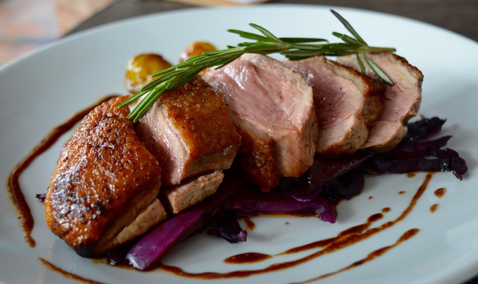 The best new restaurant in Whitley Bay - Evan's Bistro | Evening and Children's Menu Review  - roast duck