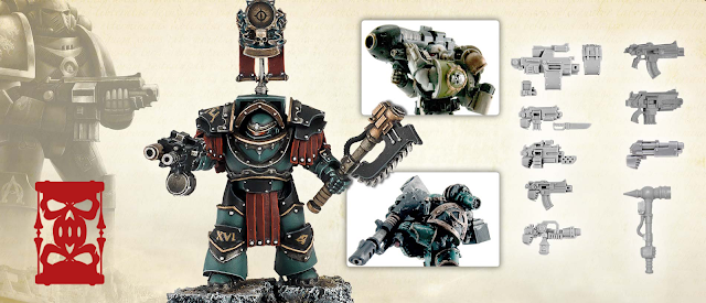 Packs armas Legiones Astartes Herejía de Horus