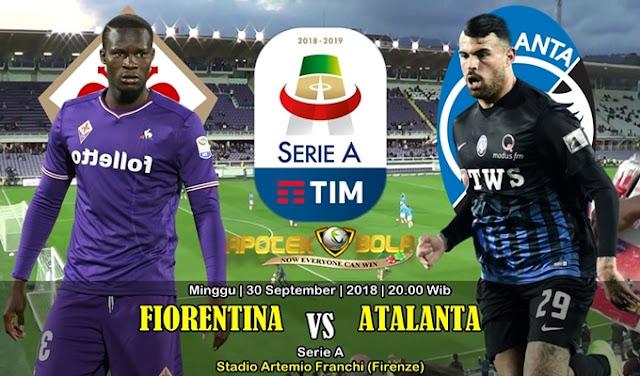 Prediksi Fiorentina vs Atalanta 30 September 2018