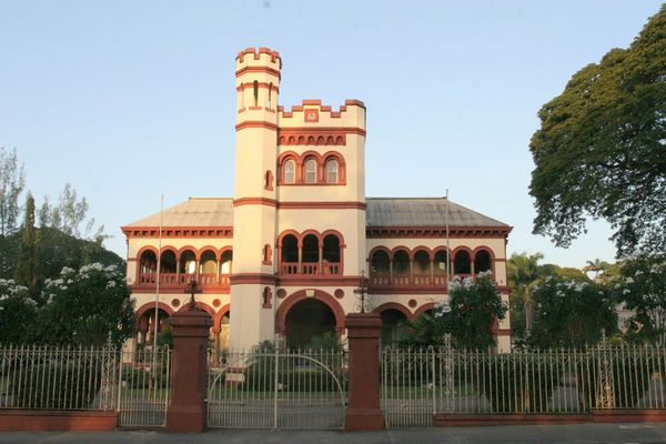 Archbishop's Palace in Queen's Park Savannah in Port of Spain, Trinidad