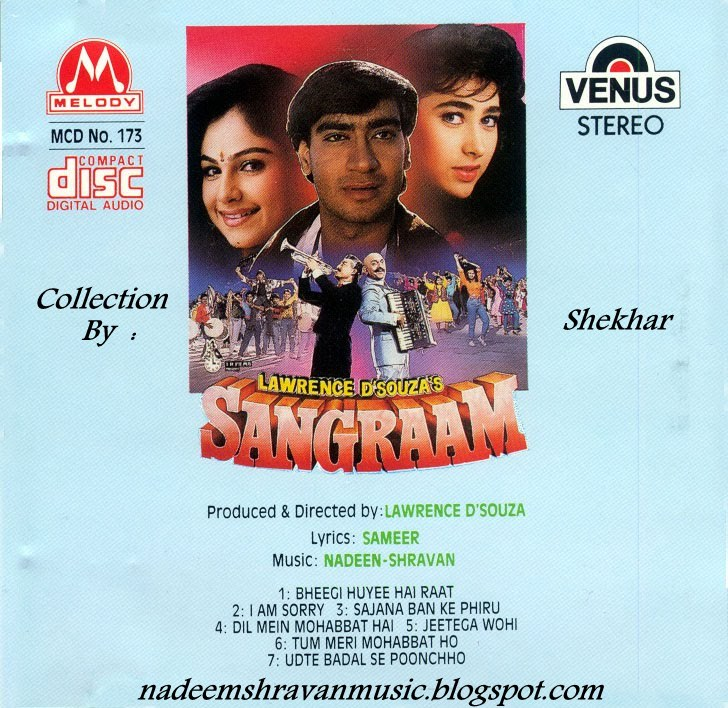 Latest Bollywood Songs Online, Download Hindi Mp3 songs : Sangraam