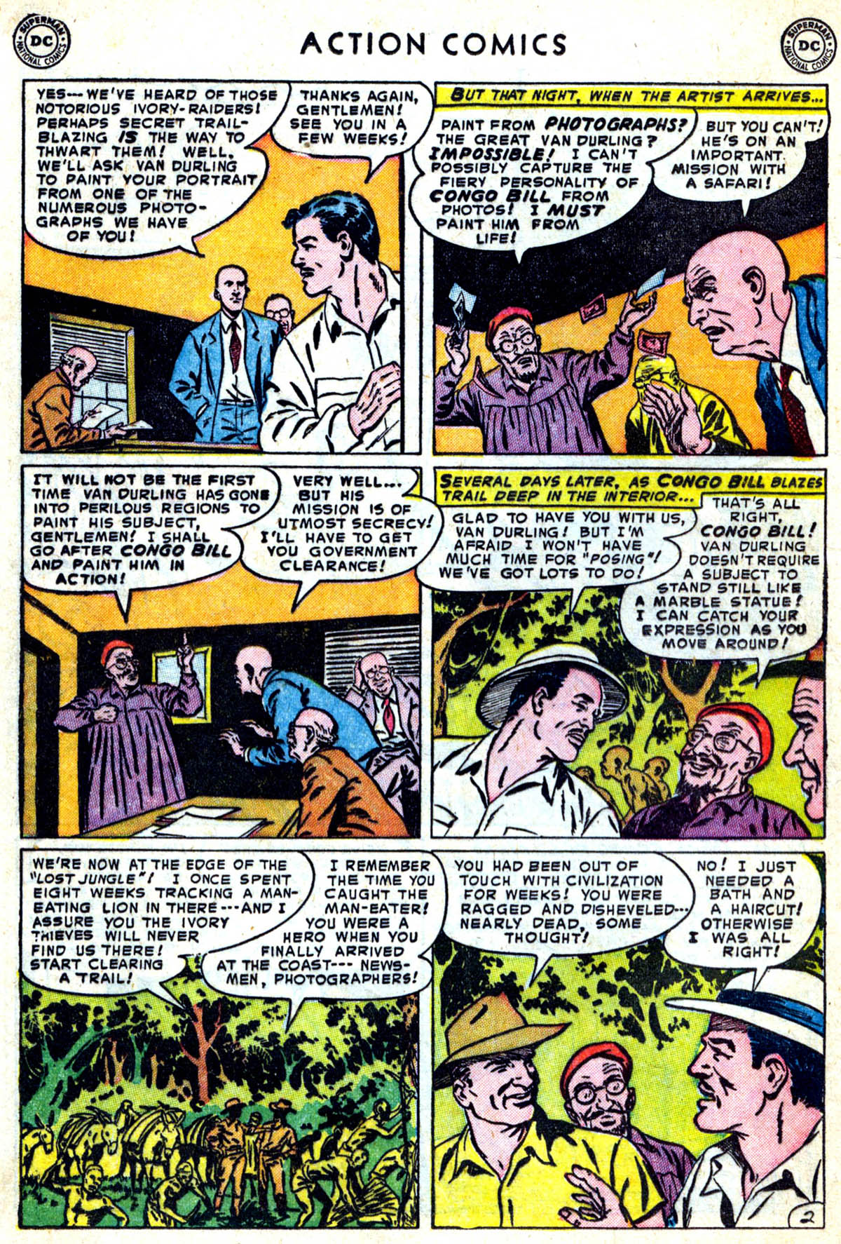 Action Comics (1938) 183 Page 17