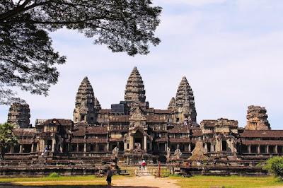 Ангкор-Ват, Камбоджа. Ankor Wat, Cambodia, самый большой буддийский храм