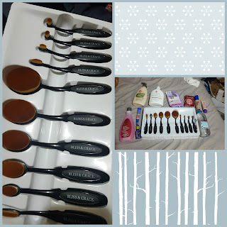 Bliss and Grace makeup brushes and new affordable makeup