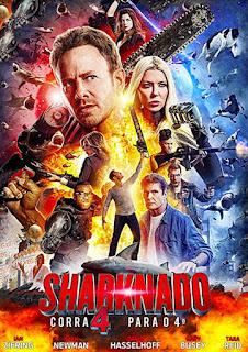 Sharknado 4: Corra Para o 4º - BDRip Dual Áudio