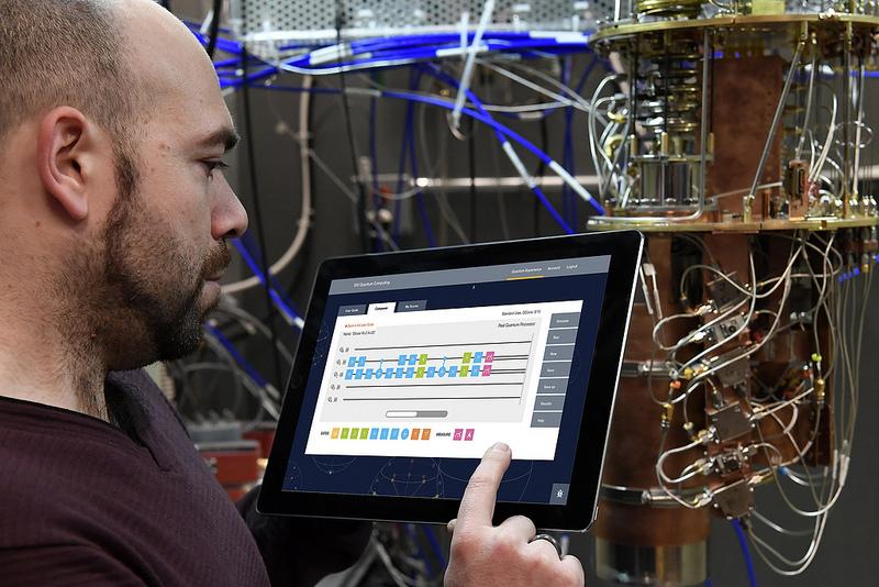 Máy tính lượng tử