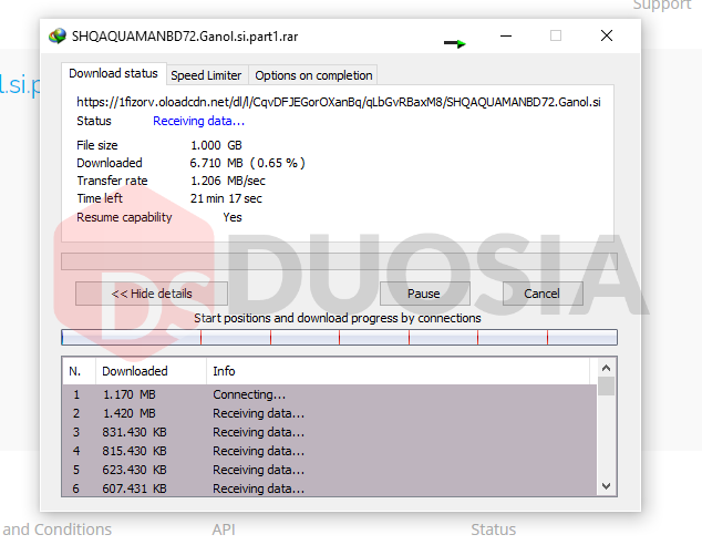 cara download openload via idm