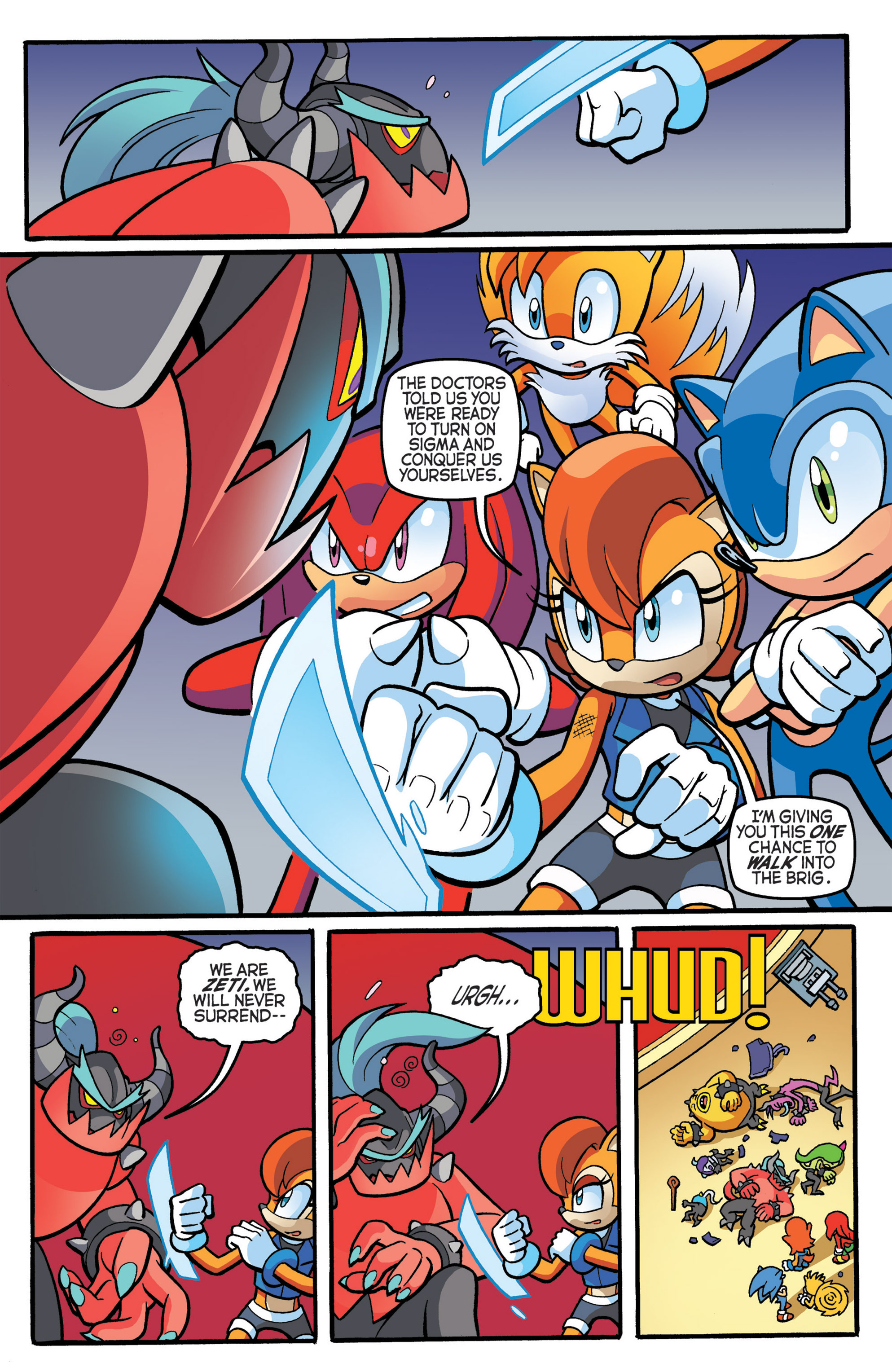 Read online Sonic The Hedgehog comic -  Issue #274 - 16
