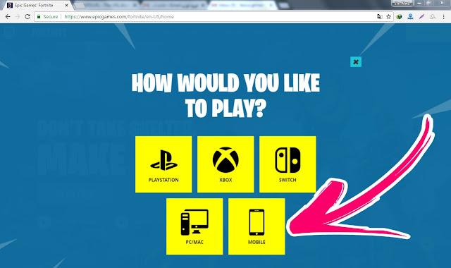 الآن وحصريا .. طريقة تحميل لعبة فورت نايت للاندرويد مجانا 2018 لجميع الأجهزة | Download Fortnite (free) for android 2018