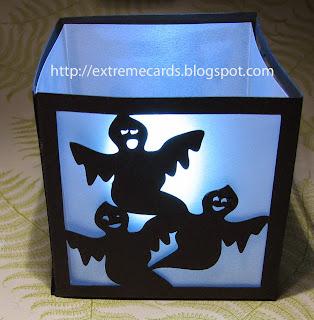 light up Halloween ghost lantern