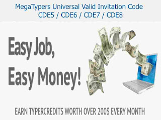 Universal Valid & Active Megatypers Invitation Code for All Country