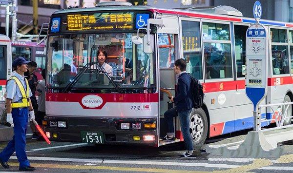 Cách sử dụng xe buýt ở Nhật Bản – Điều thực tập sinh cần biết
