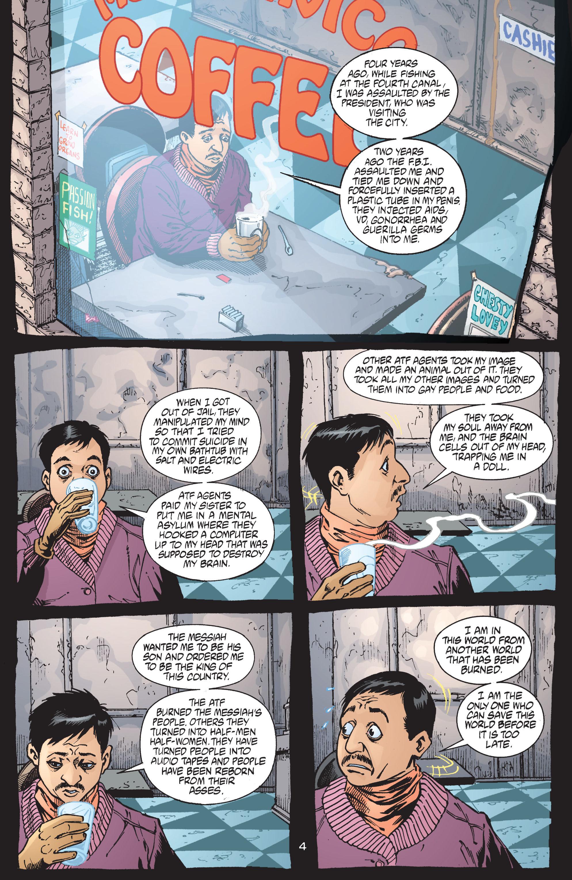 Read online Transmetropolitan comic -  Issue #41 - 5