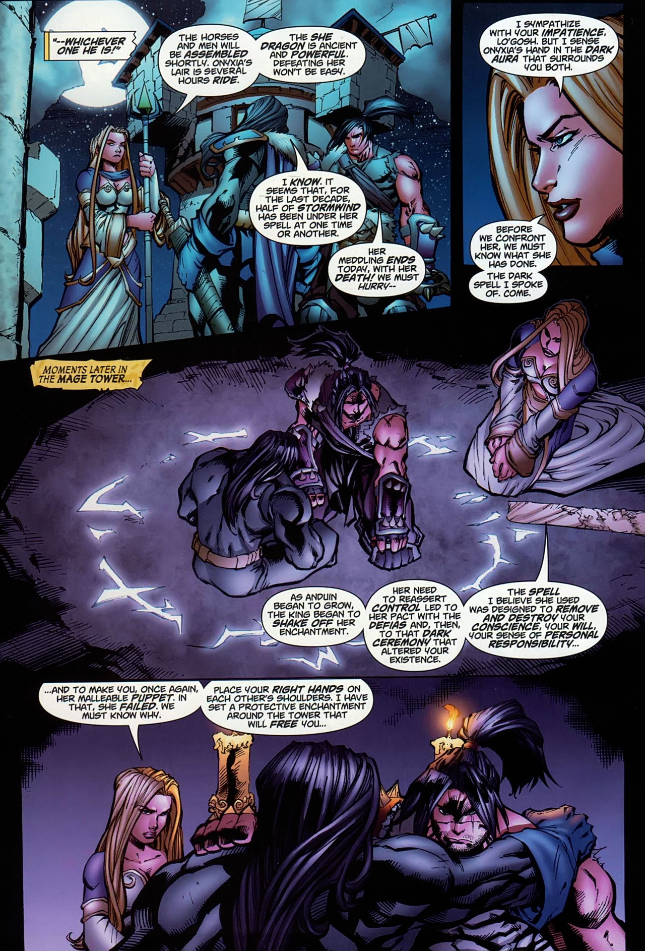Read online World of Warcraft comic -  Issue #13 - 15