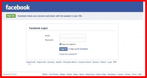 Www Facebook Login Com Mobile