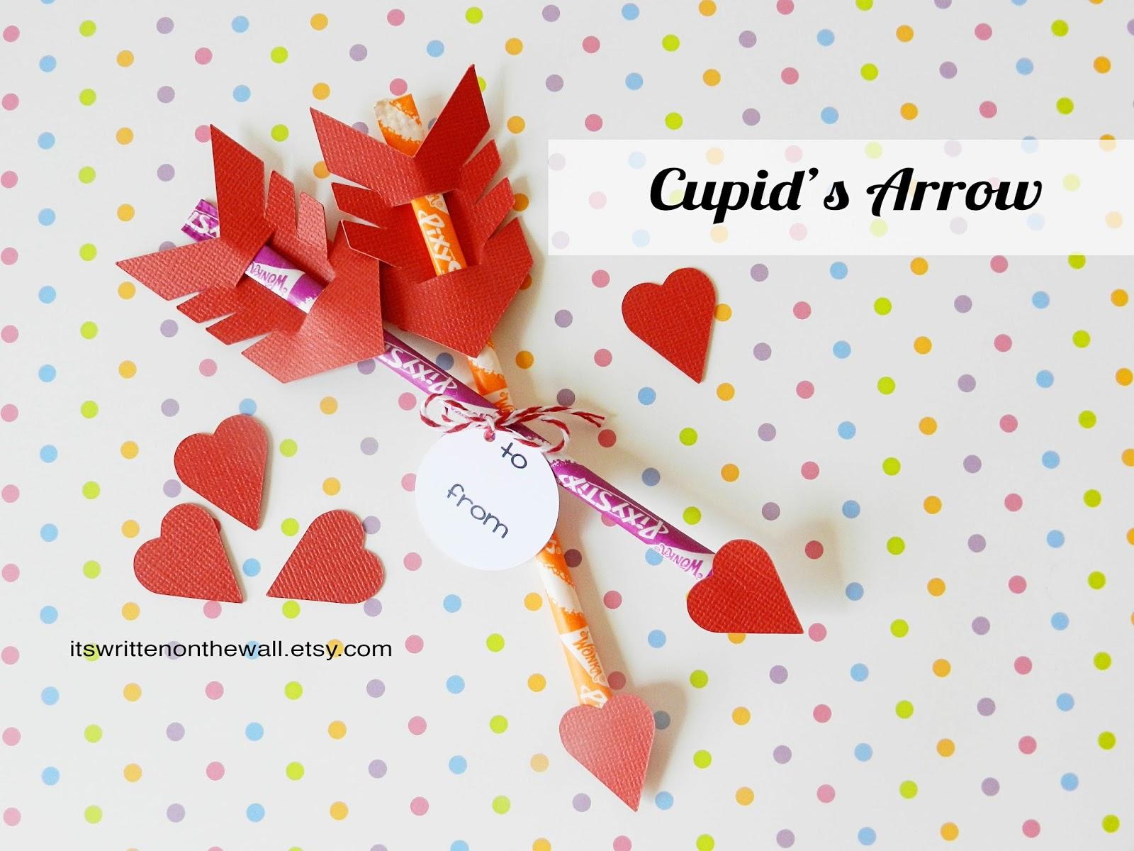 it u0027s written on the wall valentine u0027s day treat cupid u0027s arrow