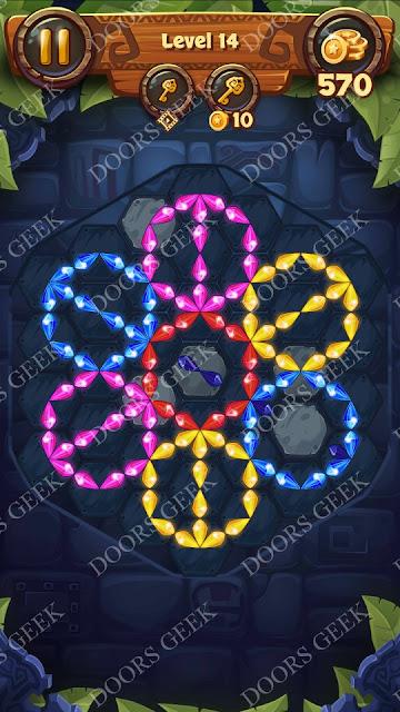 Gems & Magic [Emerald] Level 14 Solution, Walkthrough, Cheats