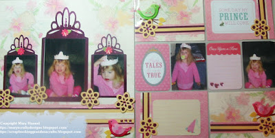 National Scrapbook Day - Challenge 2 - Princess Layout