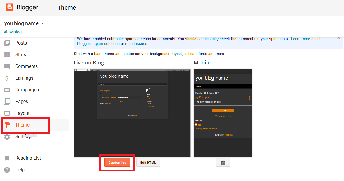 Learn Programming: How to customize blogger template with Template ...