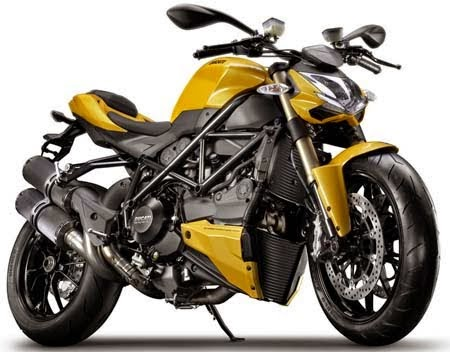 Ducati Streetfighter 848 Technical specification