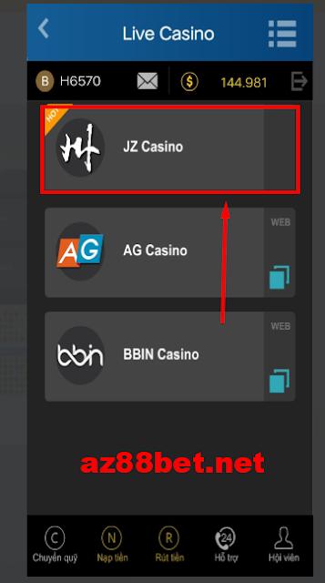 cách chơi casino trên điện thoại