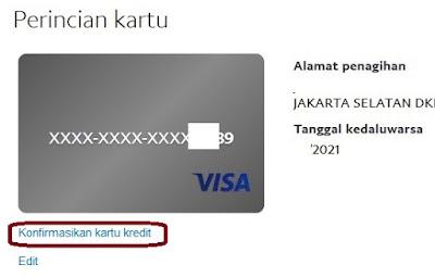 Cara verifikasi paypal terbaru dengan Bank Permata 8