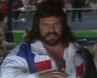 "NWA CLASH OF THE CHAMPIONS 1 - 1988: ""Dr. Death"" Steve Williams cut a promo challenging Flair for a title shot"