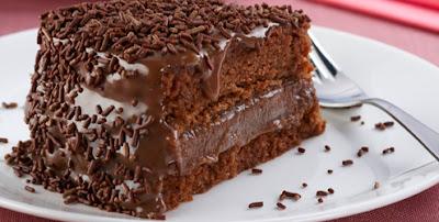 Receta de Torta Rellena de Chocolate y Leche