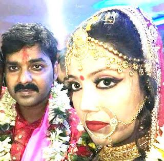 Pawan Singh and Jyoti Singh Marriage Picture 2