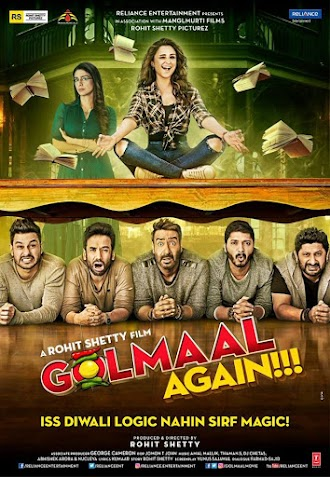 Ajay Devgn, Tabu, Arshad Warsi, Tushar Kapoor, Shreyas Talpade, Kunal Khemu, Parineeti Chopra film Golmaal Again Crosses 200 Crore Mark, Becomes Highest Grosser Of 2017