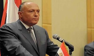 وزير الخارجية, سامح شكرى, وزارة السودان, مصر والسودان,