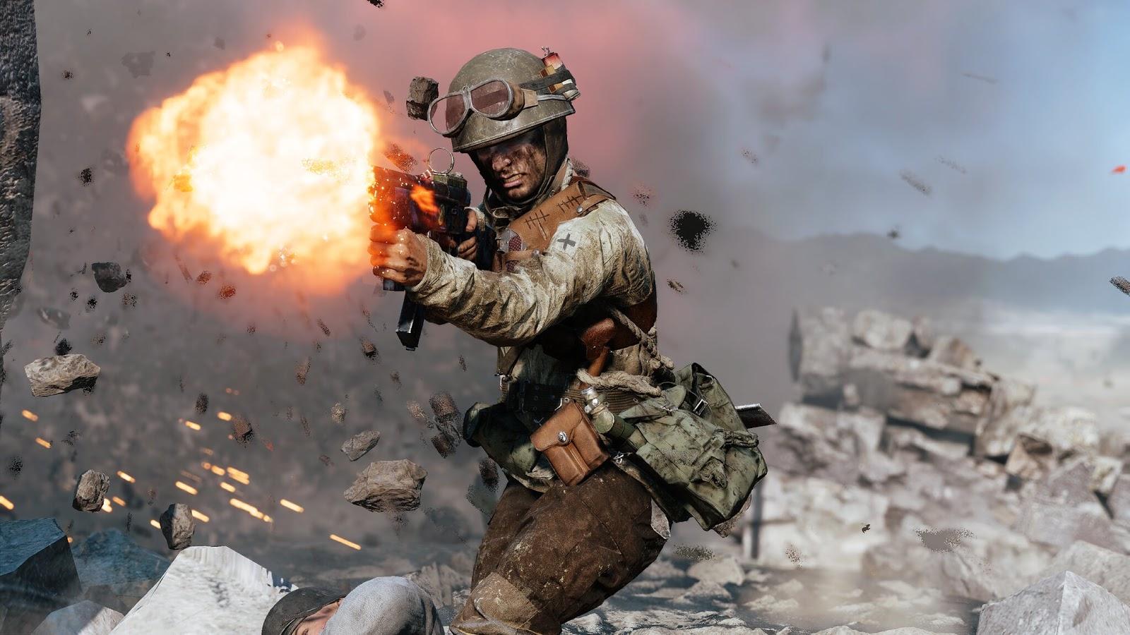 Novas Carbina de Pistola  Alemã e SMG italiana a caminho do Battlefield V