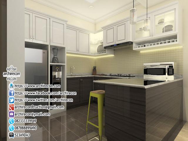 desain renovasi rumah islami - ruang dapur