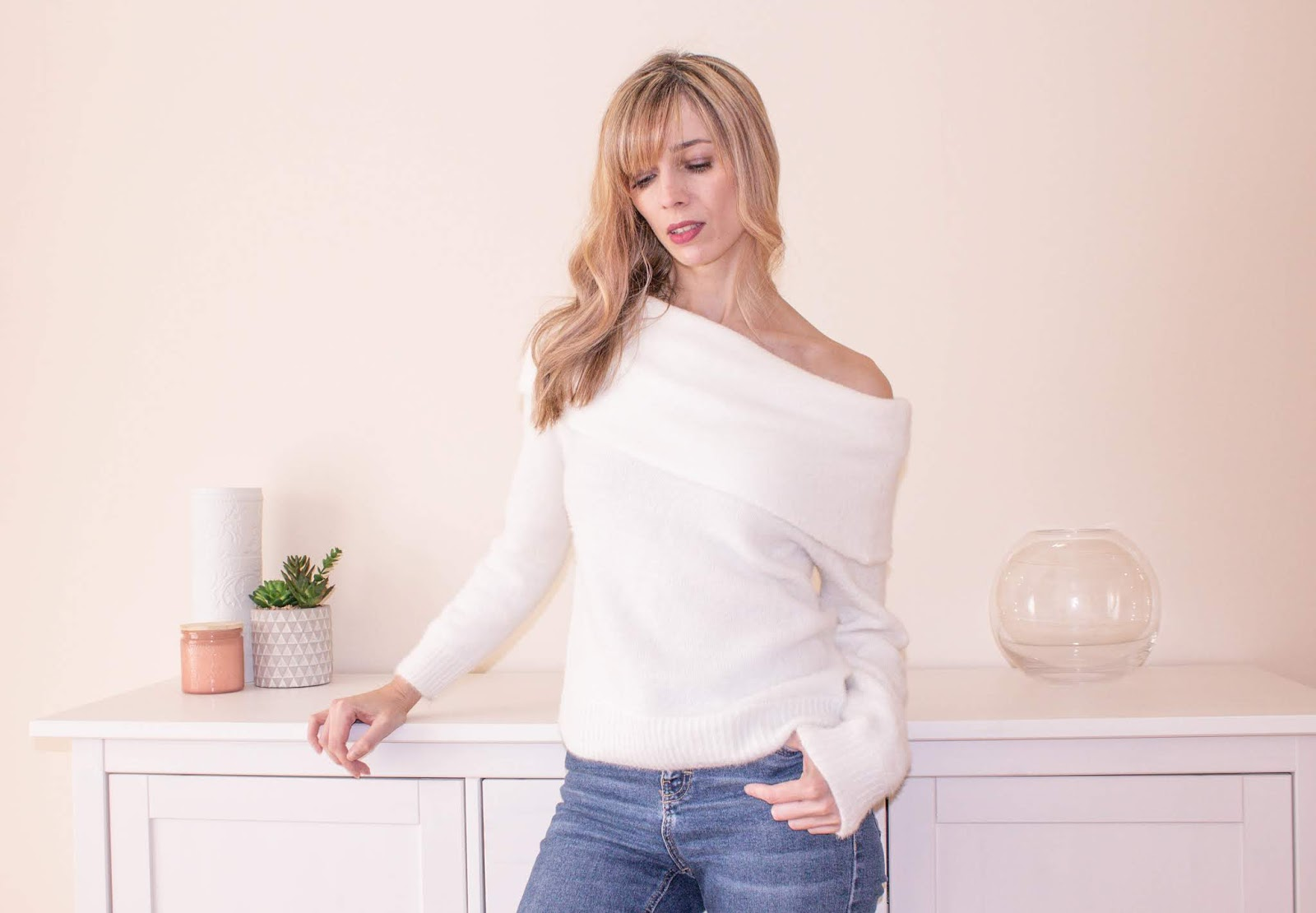 Off The Shoulder Jumpers: The Knitwear You Need For Spring