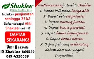 join ahli shaklee