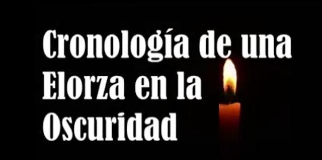 APURE: Audiovisual que relata los 20 días sin luz del pueblo elorzano entre marzo y abril de 2019. VIDEO.