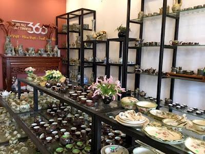 Hình ảnh cửa hàng gốm sứ Bát Tràng 360