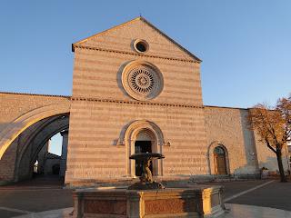 Assis Itália basílica de santa clara