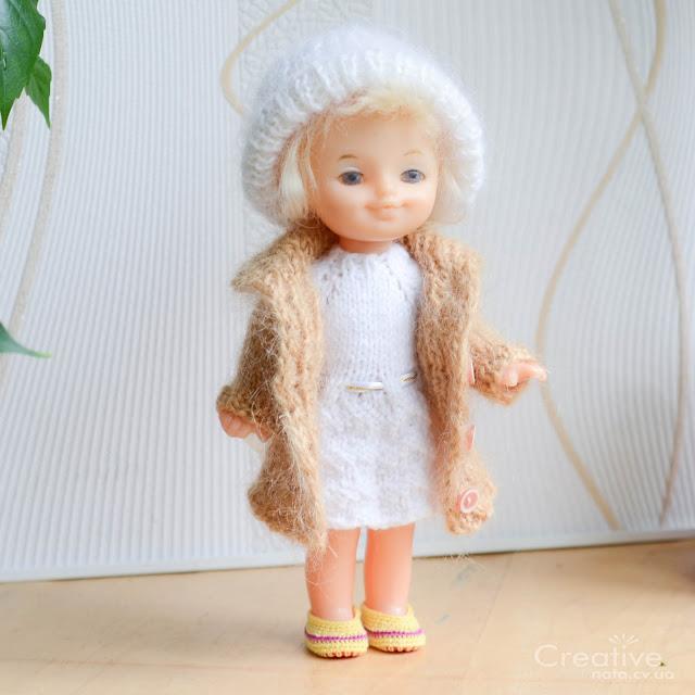 Зимняя одежда для кукол