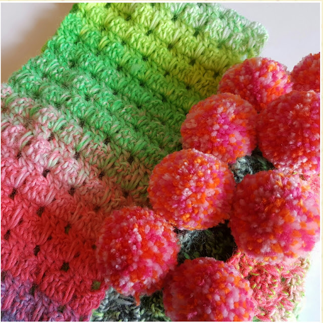 crochet scarf icicle stitch
