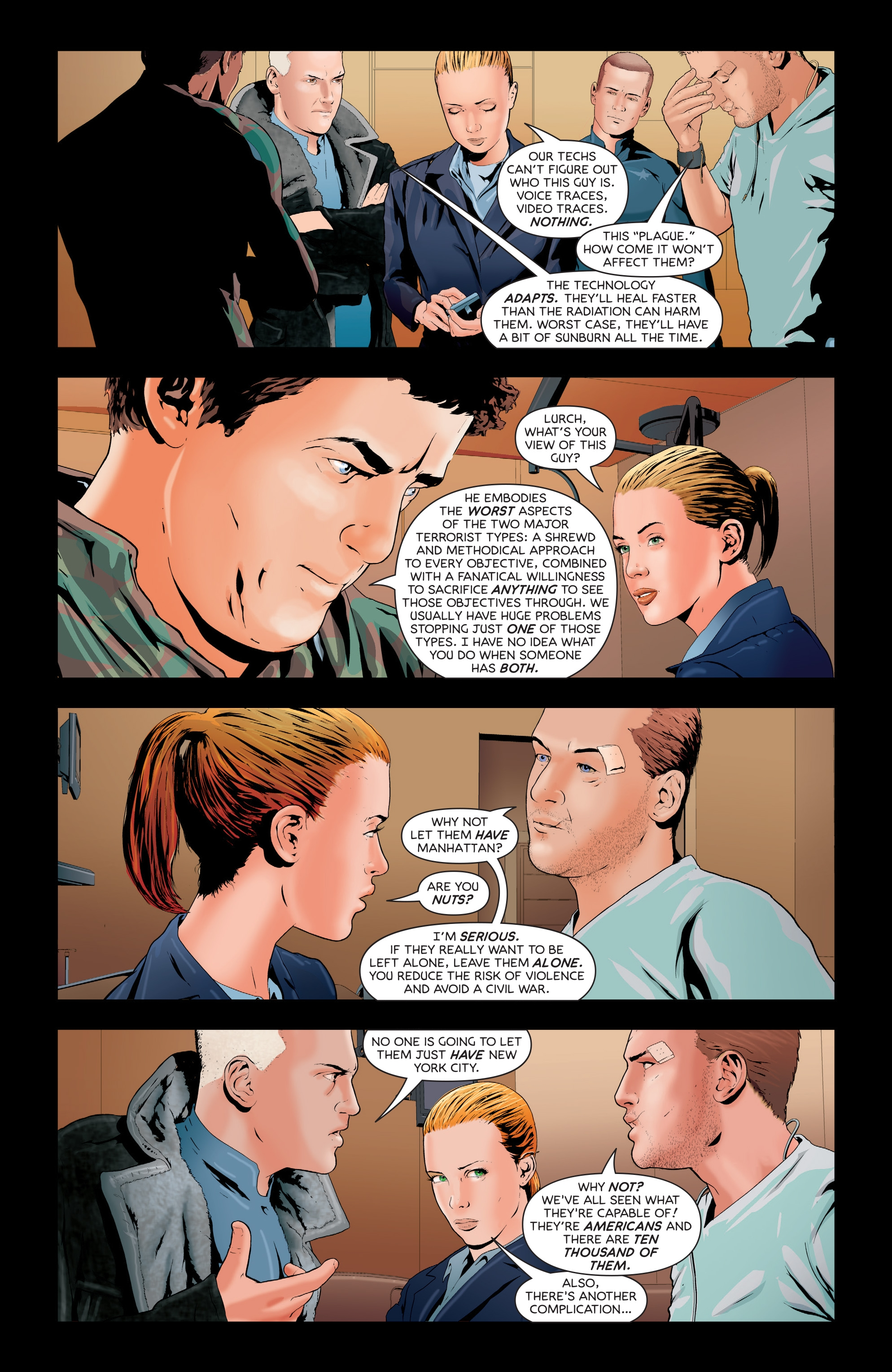 Read online Failsafe comic -  Issue #3 - 11
