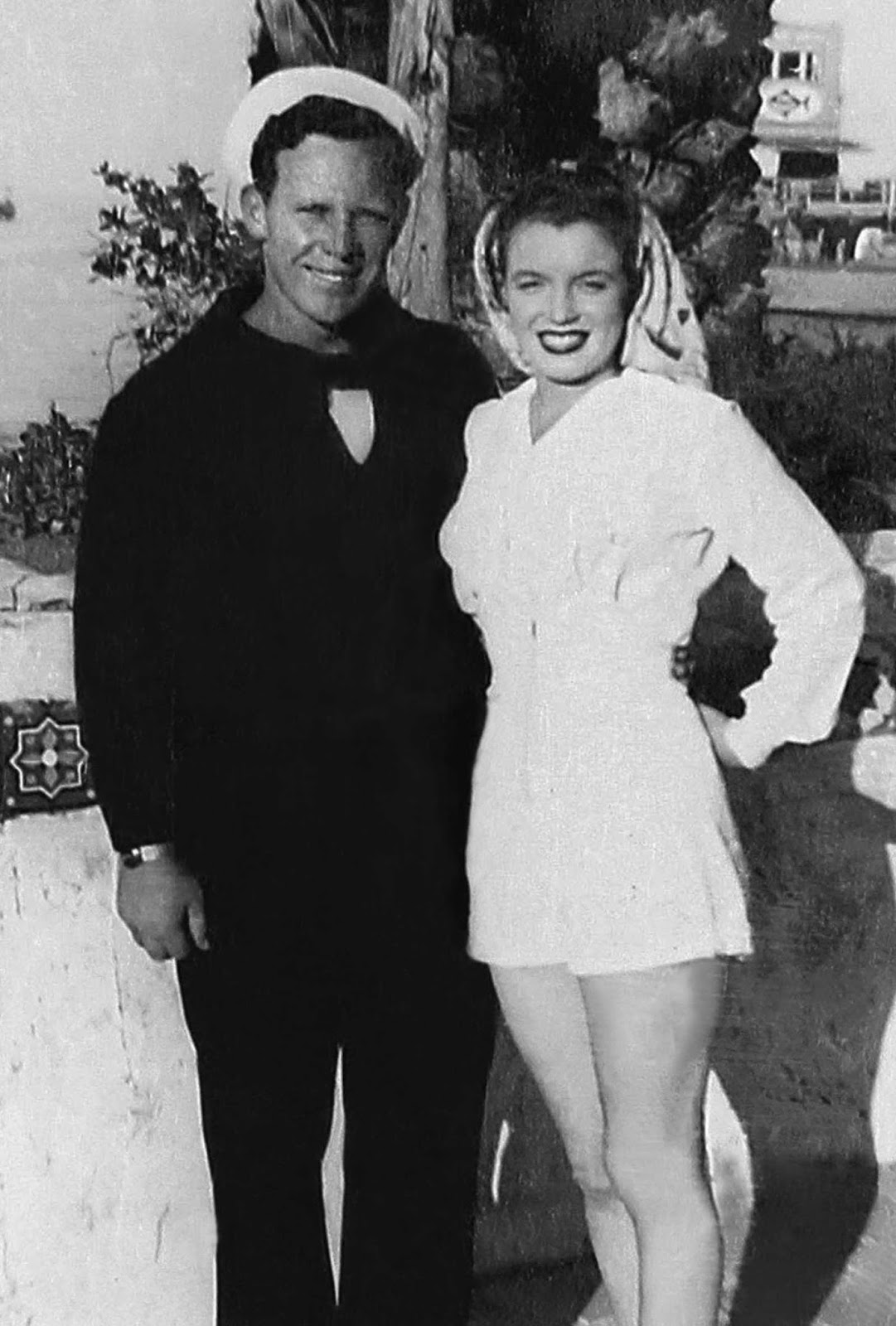 Now his wife, Norma Jeane sometimes addressed her former