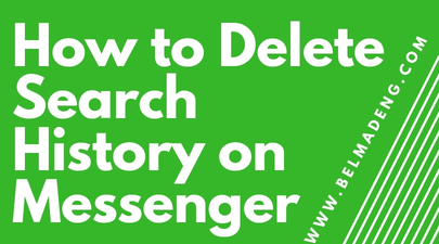 How to Delete Search History on Messenger
