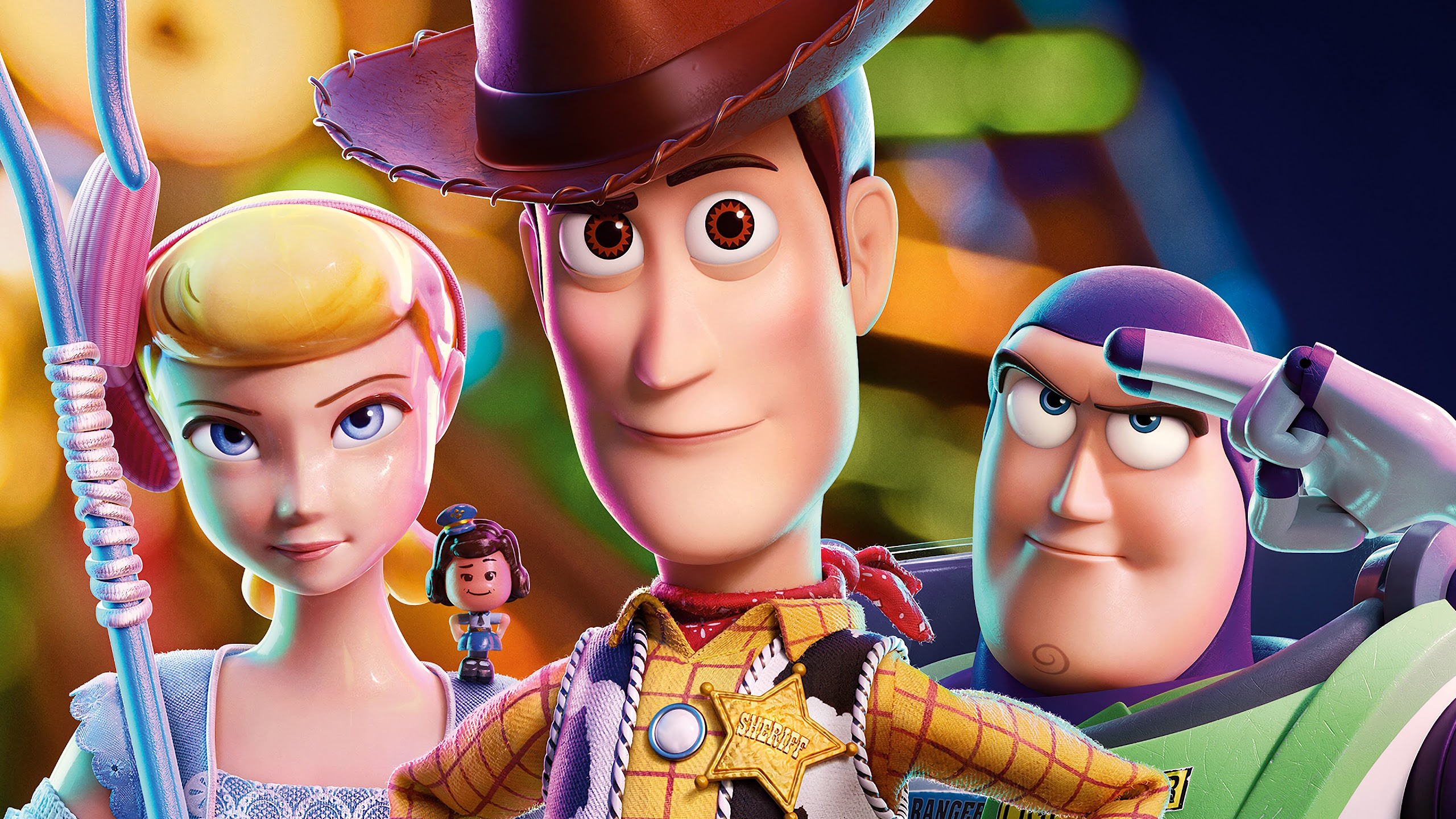 Toy Story 4 Woody Buzz Lightyear Bo Peep 4k Wallpaper 20