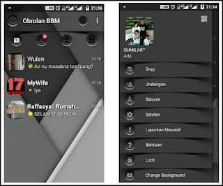 BBM MOD Dark Shadow v3.0.0.18 Apk Terbaru
