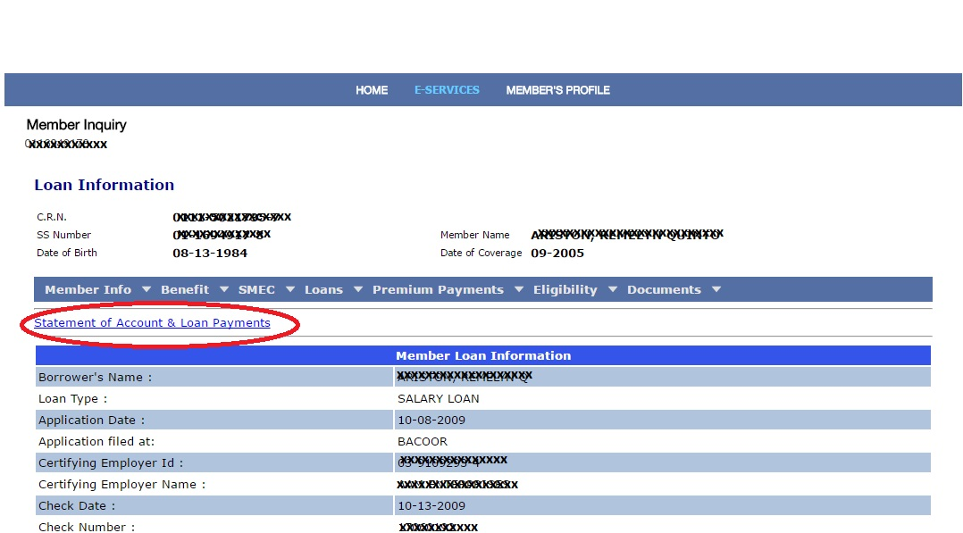 Just do it ... ONLINE: How to check SSS Loan Status online
