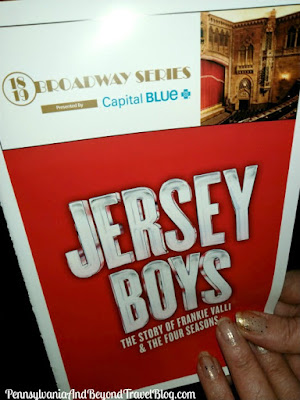 Jersey Boys at the Hershey Theatre in Hershey, Pennsylvania