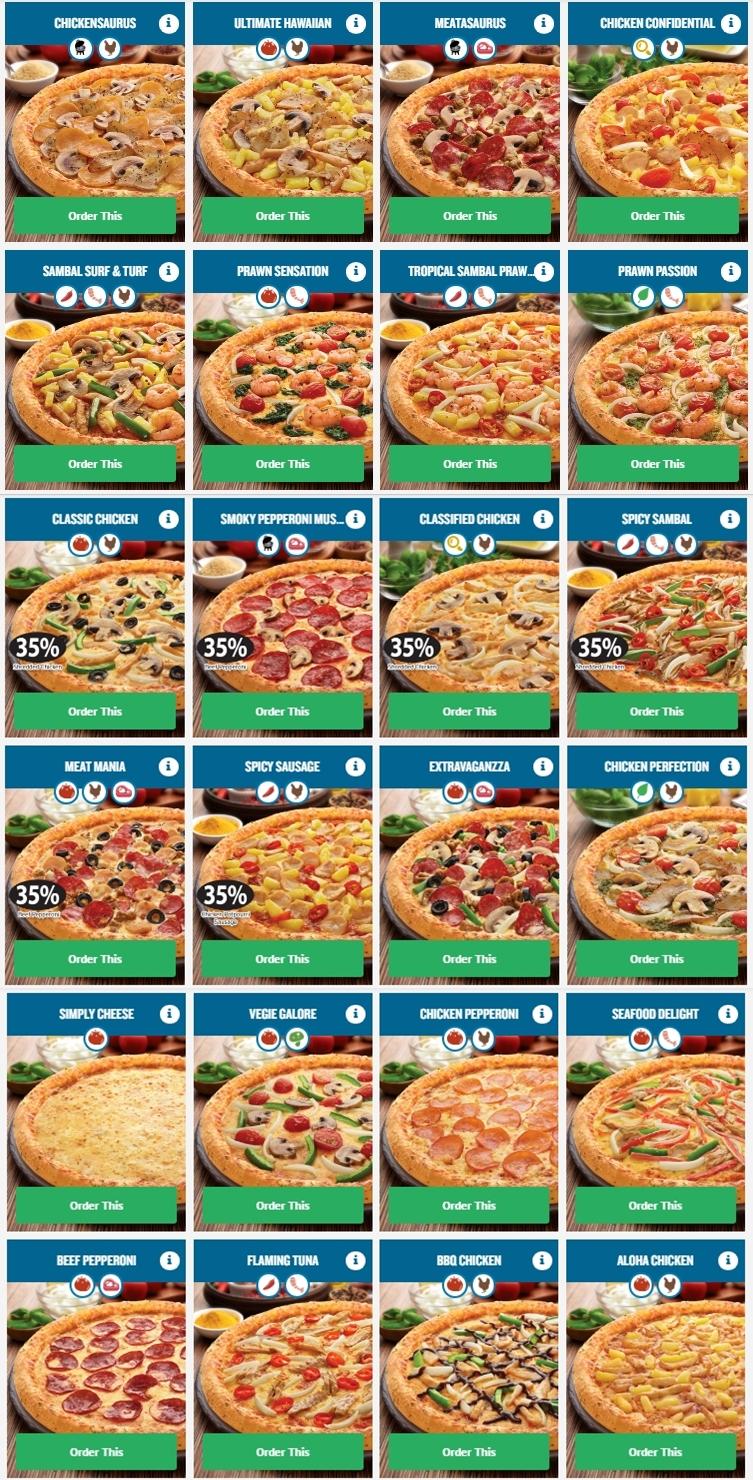 cawangan ke 200 domino 39 s pizza kini di galleria cyberjaya. Black Bedroom Furniture Sets. Home Design Ideas