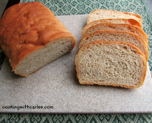 Whole Wheat Sourdough Sandwich Bread